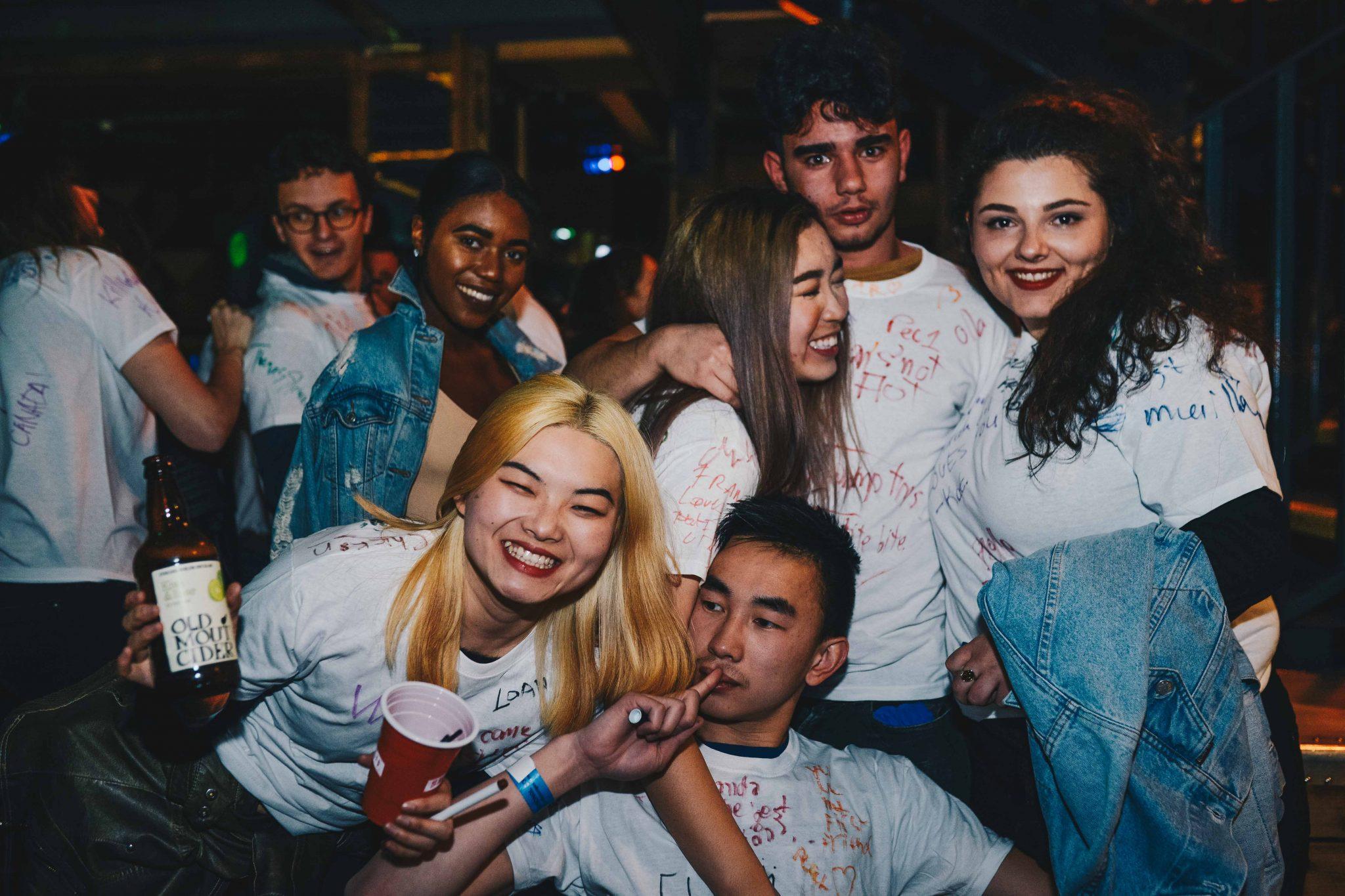 Bar Crawl - White Shirt Edition