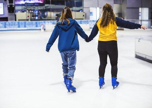 Ice rink girsl