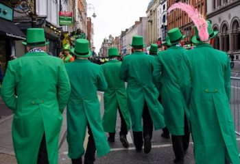 Men in green suits 3