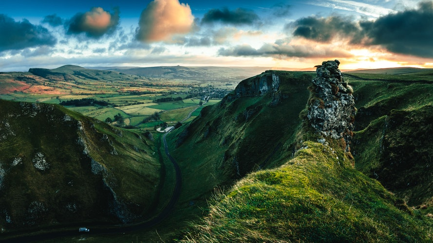 Peak District viewn