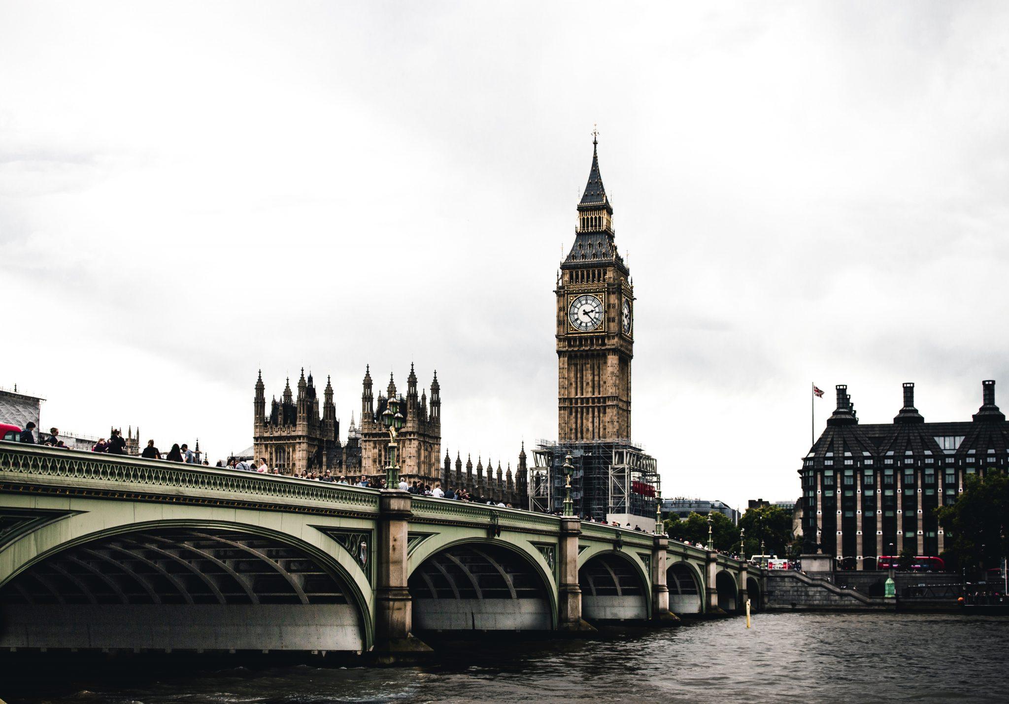 UK parliament and big ben